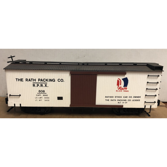 G Scale Bachmann The Rath Packing Co Boxcar