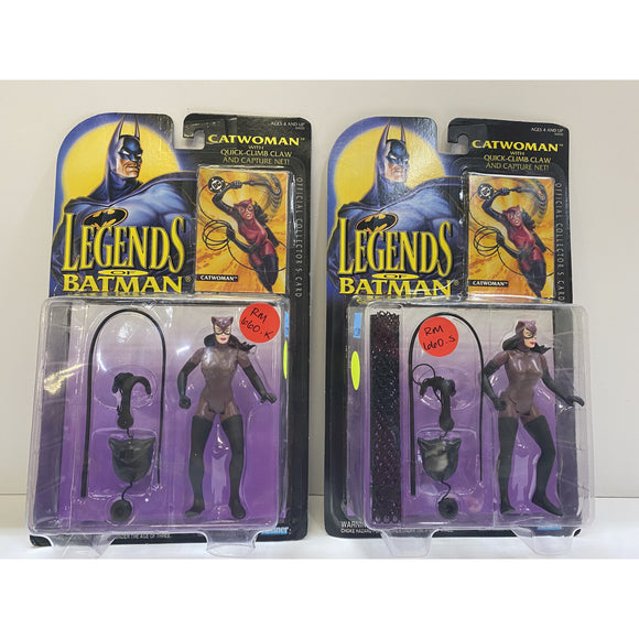 Kenner Batman Catwoman Set with Manufacture Mis-Pack Figure 1994