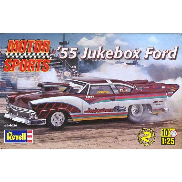 1/25 Revell 854036  '55 Jukebox Ford Pro Modified