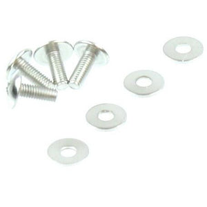 S127 Round Head Screw (3*8mm) with Shims 4 PCS