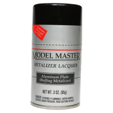 Metalizer Spray 3oz Aluminum