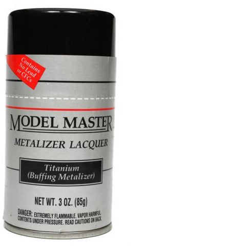 Metalizer Spray 3oz Titanium