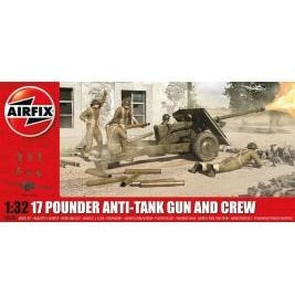 A06361 17 Pdr Anti-Tank Gun, 1:32 - Swasey's Hardware & Hobbies