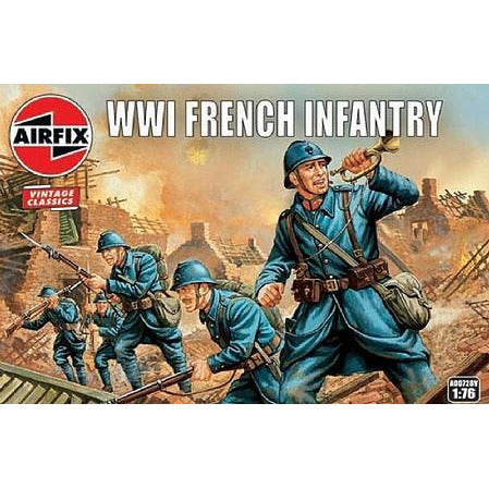 1/76 Scale Airfix A00728V  WWI French Infantry