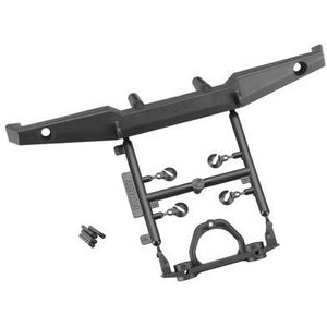 AX80039B 1/10 Rear Plate Bumper Set