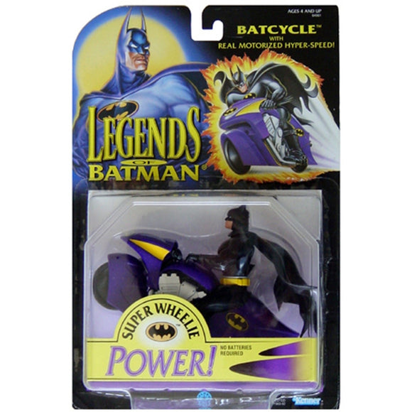 Kenner Batman Batcycle action Figure 1994