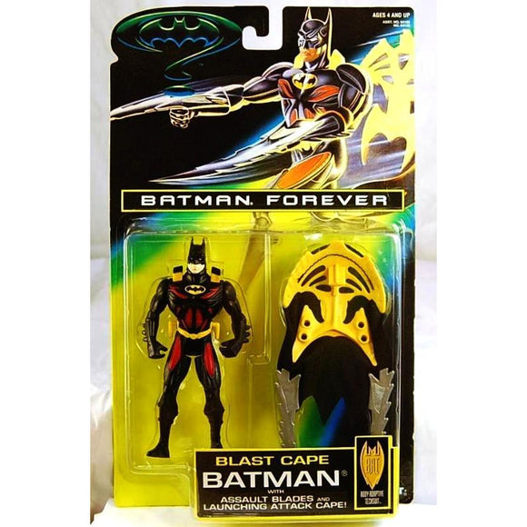 Kenner Batman Blast Cape Action Figure 1995