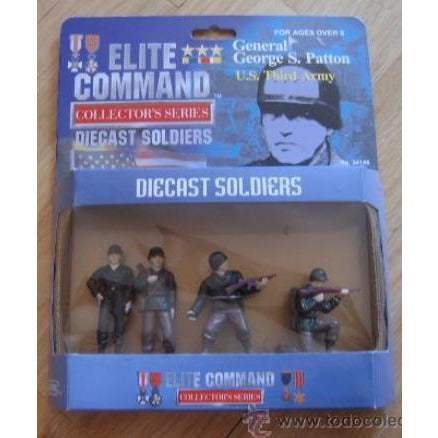 1/24 Blue Box Toys 34145 Elite Command Die Cast Soldiers General George S. Patton