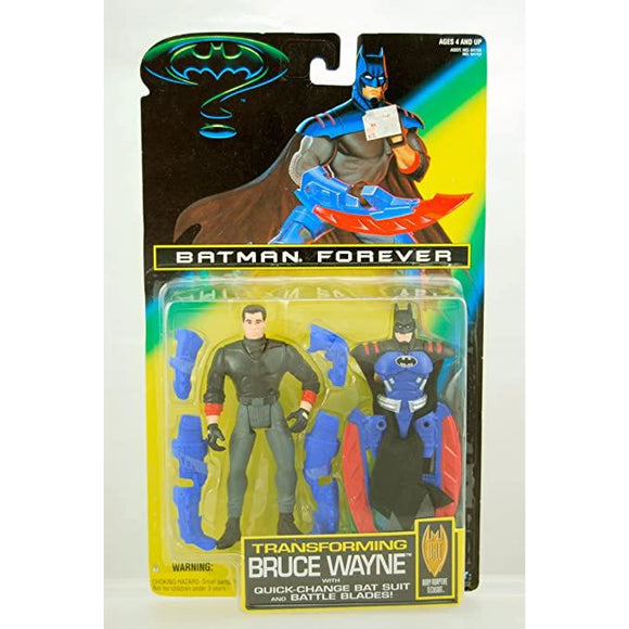 Kenner Batman Transforming Bruce Wayne Action Figure 1995