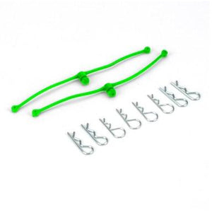 DUB2253 Body Klip Retainers Lime (-lime:72