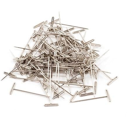 DUB254 T-Pins, Nickel Plated, 1-1/2