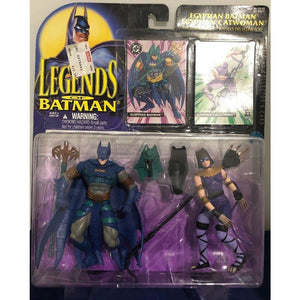 Kenner Batman and Catwoman Egyptian Action Figure 1995