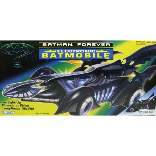 Kenner Batman Electronic Batmobile 1995
