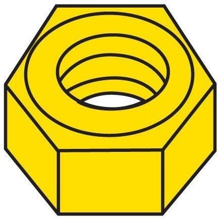 Hex Nuts (5)-CLICK ON TO CHOOSE YOUR SIZE
