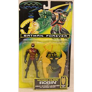 Kenner Batman Hydro Claw Robin Action Figure 1995