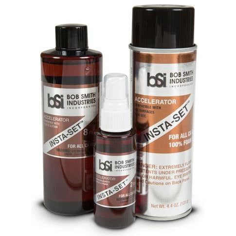 BSI 151 FOAM SAFE INSTA-SET ACCELERATOR 2 OZ.