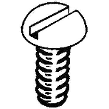 Stainless Steel Screws, 2-56 x 3/8