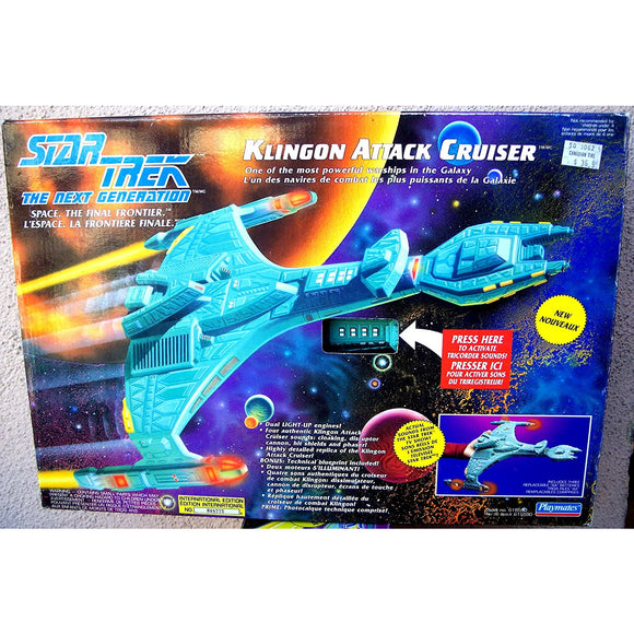 Star Trek Kingdom Attack Cruiser 1993