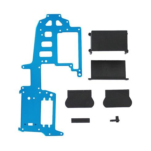 02115b Aluminum upper plate (blue) (requires 83014 battery pack) ~