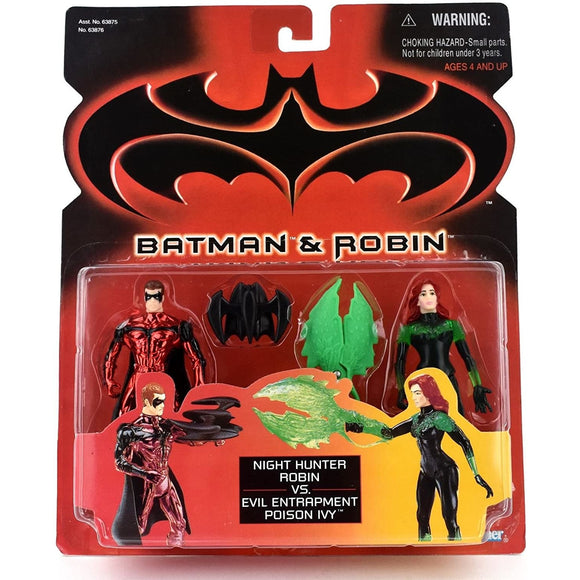 Kenner Batman Night Hunter Robin vs. Evil Entrapment Poison Ivy Action Figure 19