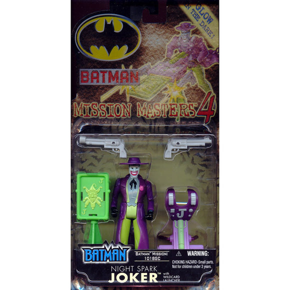 Hasbro Batman Night Spark Joker Action Figure 2001