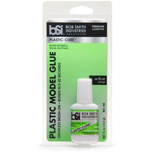 BSI 105 ODORLESS BRUSH ON PLASTIC-CURE 1/2 OZ.