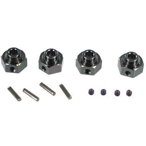 RCT-H009 Aluminum Wheel Hex with Pins