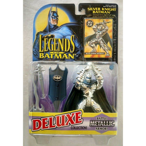 Kenner Batman Silver Knight action Figure 1995