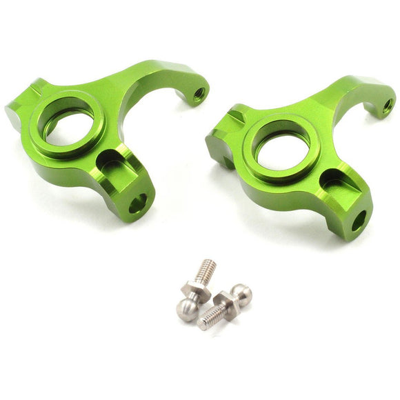 ST Racing Concepts High Clearance Steering Knuckle Set (Green)
