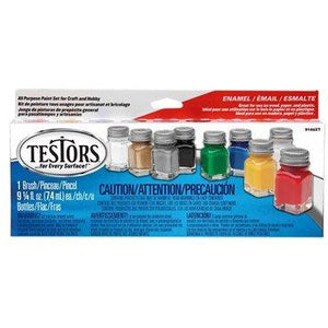 All-Purpose Gloss Enamel 8 Color Paint Set