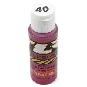 Silicone Shock Oil, 40 Wt, 2 Oz