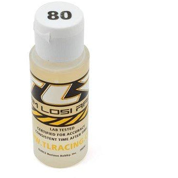 Silicone Shock Oil, 80 Wt, 2 Oz