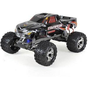 Traxxas Stampede 1/10 RTR Monster Truck (Black) w/XL-5 ESC, TQi 2.4GHz Radio, Battery & Charger