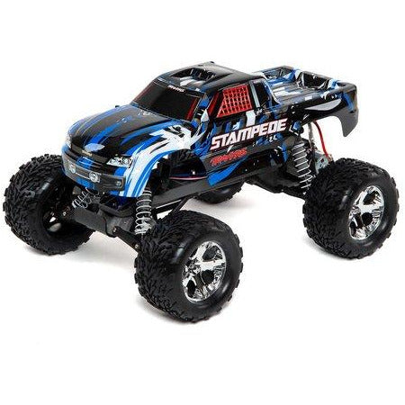 Traxxas Stampede 1/10 RTR Monster Truck (Blue) w/XL-5 ESC, TQi 2.4GHz Radio, Battery & DC Charger