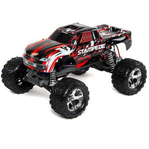 Traxxas Stampede 1/10 RTR Monster Truck (Red) w/XL-5 ESC, TQi 2.4GHz Radio, Battery & Charger