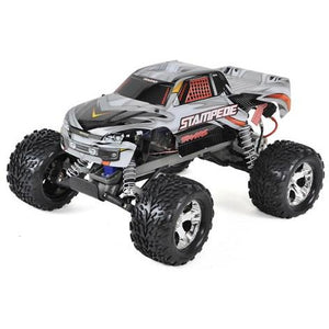 Traxxas Stampede 1/10 RTR Monster Truck (Silver) w/XL-5 ESC, TQi 2.4GHz Radio, Battery & Charger