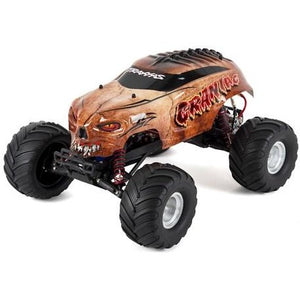"Traxxas ""Craniac"" 1/10 RTR Monster Truck (Bone) w/XL-5 ESC, TQ 2.4GHz Radio, iD Battery & DC Charger"