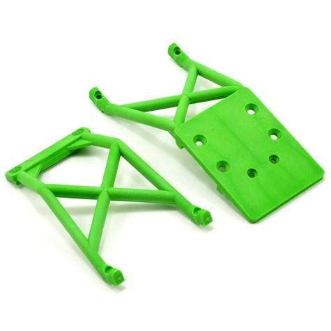 3623A Front & Rear Skid Plates Green
