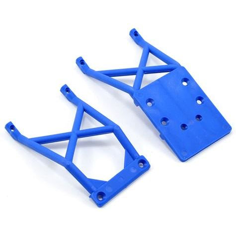 3623X Front And Rear Skid Plate, Blue