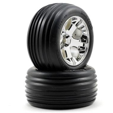 3771 Chrome Wheel Front W Alias Tire W/Alias-Tire-(2)