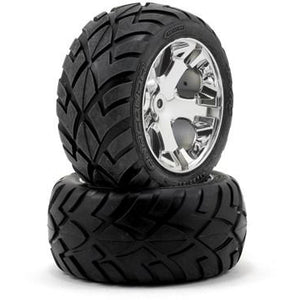 3773 R All-Star Wheels Chrome,Anaconda Tire(2):Electric