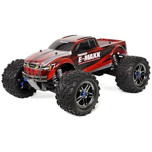Traxxas E-Maxx RTR Brushless 4WD Monster Truck (Red) w/TQi 2.4GHz Radio & TSM