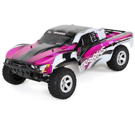 Traxxas Slash 1/10 RTR Short Course Truck (Pink)w/On Board Audio, XL-5, 2.4GHz Radio, Battery & Charger