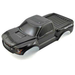 5826A Ford Raptor Body Black With Body-(Black-With