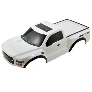 5826X Ford Raptor Body White With Body-(White-With