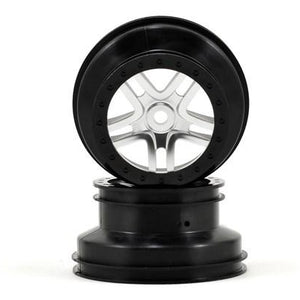 5974 Black Beadlock Split-Spoke Wheel