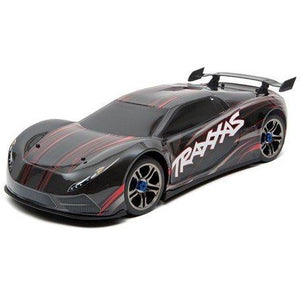 Traxxas XO-1 1/7 RTR Electric 4WD On-Road Sedan (Black) w/2.4GHz TQi Radio, TSM & Link Wireless Module