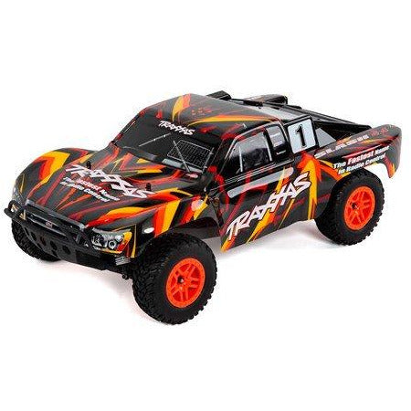 Traxxas Slash 4X4 RTR 4WD Brushed Short Course Truck (Orange) w/TQ 2.4GHz Radio, Battery & DC Charger