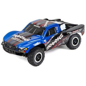 "Traxxas Slash 4X4 ""Ultimate"" RTR 4WD Short Course Truck (Blue) w/On Board Audio, TSM & TQi 2.4GHz Radio"