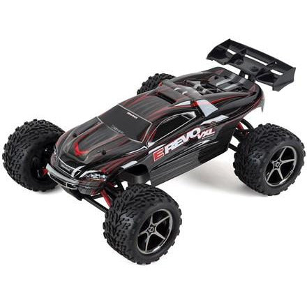 Traxxas E-Revo VXL 1/16 4WD Brushless RTR Truck (Black)w/TQi 2.4GHz Radio, TSM, Battery & DC Charger